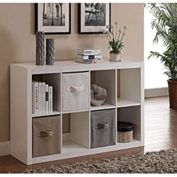 Modern Family Room Furniture - 8 Cube Storage Organizer (1)
