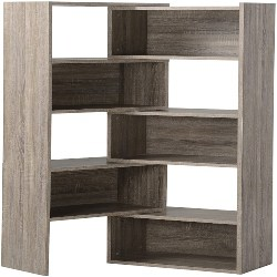 Modern Family Room Furniture - Flexible and Expandable Shelving Console (1)