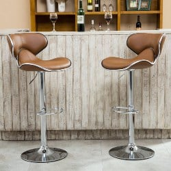 Modern Kitchen Furniture - Airlift Adjustable Swivel Barstool