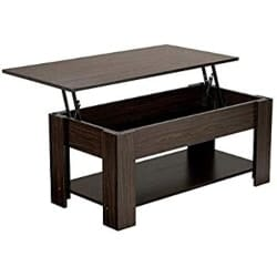 Modern Living Room Furniture - Lift Top Coffee Table with Hidden Storage Compartment (1)