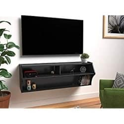 Modern Minimalist Furniture - Prepac Altus Wall Mounted Audio Video Console (1)