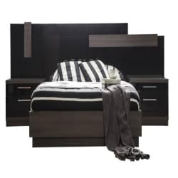 Modern Unique Furniture - Napoli Bed, King