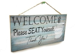Wall Hanging Welcome Sign (1)