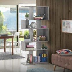 best minimalist furniture - 5 Cubes Corner Storage Bookshelf