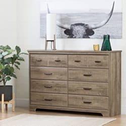 best minimalist furniture - 8-Drawer Double Dresser
