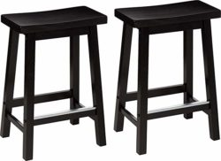 best minimalist furniture- AmazonBasics Bar Stool
