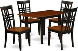 best minimalist furniture - East West Dining Table Set