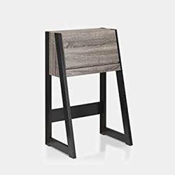 best minimalist furniture - Rectangular Ladder Desk with Pull Down Cabinet