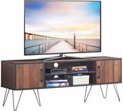best minimalist furniture - Tangkula Retro TV Stand