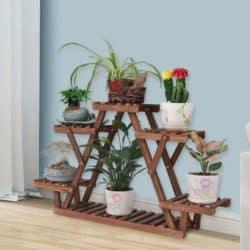 best minimalist furniture - multi-tier plant shelf
