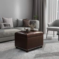 best traditional furniture - Adeco Ottoman Footstool