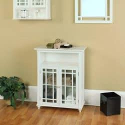 best traditional furniture ideas - Elegant Home Fashions Double-Door Floor Cabinet