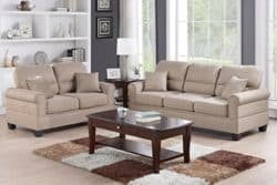 best traditional furniture ideas - Poundex Sofa and Love Seat