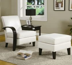 best traditional furniture ideas - Roundhill Furniture Armchair and Ottoman