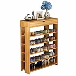 traditional furniture - soges 5-Tier Shoe Rack