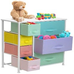 cheap furniture - 7 Drawer - Furniture Storage Chest for Kids (1)