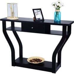 cheap furniture - Console Hall Table for Entryway with Storage Drawer