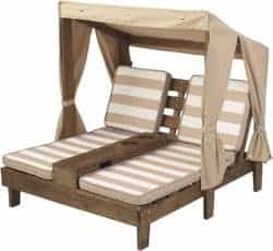 cheap furniture - Double Chase Lounge with cup holders
