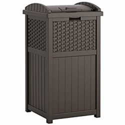 cheap furniture - Resin Outdoor Trash with Lid