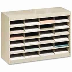 cheap furniture - Wood Adjustable Literature Organizer