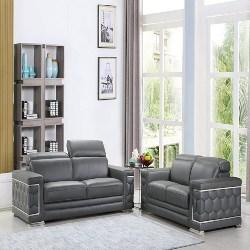 family room furniture - Black Furniture Italian Living Room Sofa Set