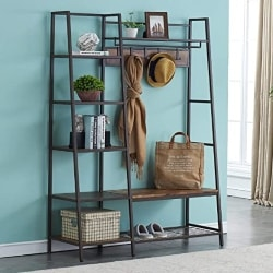 family room furniture - HOMYSHOPY Entryway Hall Tree