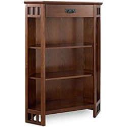 family room furniture - Leick Corner Bookcase