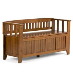 family room furniture - Simpli Home Storage Bench