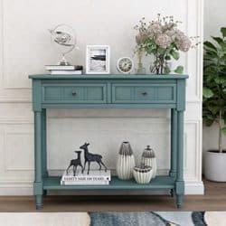 family room furniture - Vista Pine Wood Media Console Table
