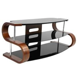 family room furniture - WOYBR TV stand bent wood