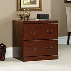 family room furniture - Z-Line Designs 2-Drawer Lateral File Espresso Cabinet