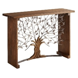 Cheap Bohemian Furniture Ideas - Arbor Tree Console Table (1)