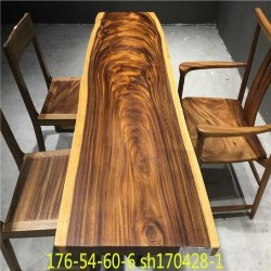 Cheap Dining Furniture Ideas - Live Edge Dining Table (1)