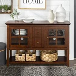 Cheap Dining Furniture Ideas - Walker Edison Furniture Company Wood Console Table, Walnut