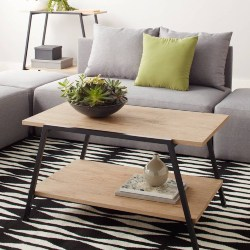 Cheap Family Room Furniture Ideas - Mainstays Conrad Coffee Table