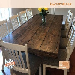 Cheap Kitchen Furniture Ideas - Farmhouse Table (1)