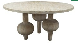 Cheap Kitchen Furniture Ideas - Julie 60in Round Dining Table Unfinished
