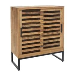 Cheap Pallet Furniture Ideas - Pallet Sliding Door Cabinet
