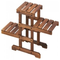 Cheap Pallet Furniture Ideas - Zigzag Pallet Plant Stand (1)