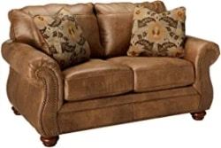 Cheap Traditional Furniture Ideas - Larkinhurst Contemporary Loveseat, Earth