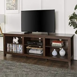 Cheap Traditional Furniture Ideas - Minimal Farmhouse Wood Universal Stand for TV
