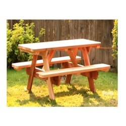 Cheap Traditional Furniture Ideas - Traditional Picnic Table Backyard Furniture Plans (1)