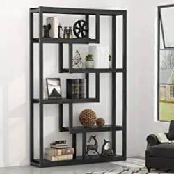 Cheap Unique Furniture Ideas - Bookcase - 5 Shelf - Brown