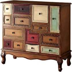Cheap Unique Furniture Ideas - Furniture of America Zeppo Storage Chest, Antique Walnut
