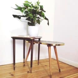 Modern Bohemian Furniture - 50s coffee table
