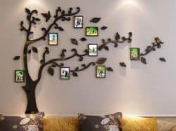 Modern Bohemian Furniture - Picture Frames Tree Wall Murals