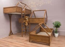Modern Family Room Furniture Ideas -  BelovedTreeHouseShop bunk bed for kids