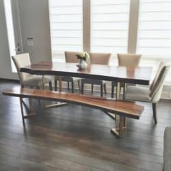 Modern Family Room Furniture Ideas -  Dining table