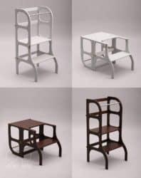 Modern Family Room Furniture Ideas - EtteTete Helper tower