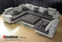 Modern Family Room Furniture Ideas - Stendmar SECTIONAL SOFA SET